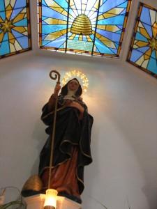 Saint Gobnait, Patron Saint of Beekeepers